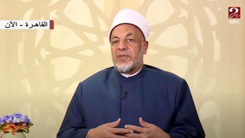 الدكتور سعيد عامر رئيس لجنة الفتوي بالأزهر الشريف