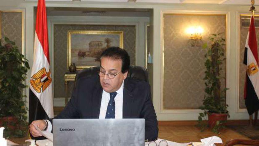 الدكتور خالد عبد الغفار .. وزير التعليم العالي والبحث العلمي
