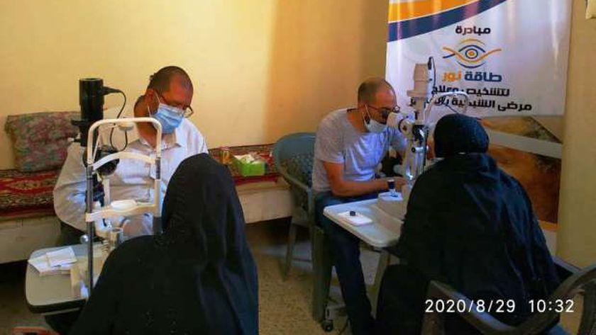 إنطلاق قافلة طبية لعلاج العيون وأمراض الشبكية بالمجان في 15 قرية بسوهاج