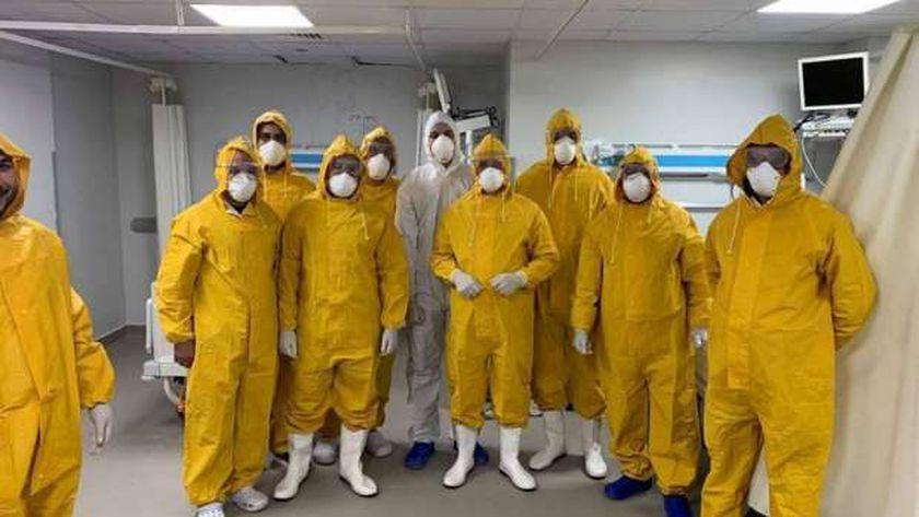 فريق عمل مواجهة انتشار فيروس كورونا