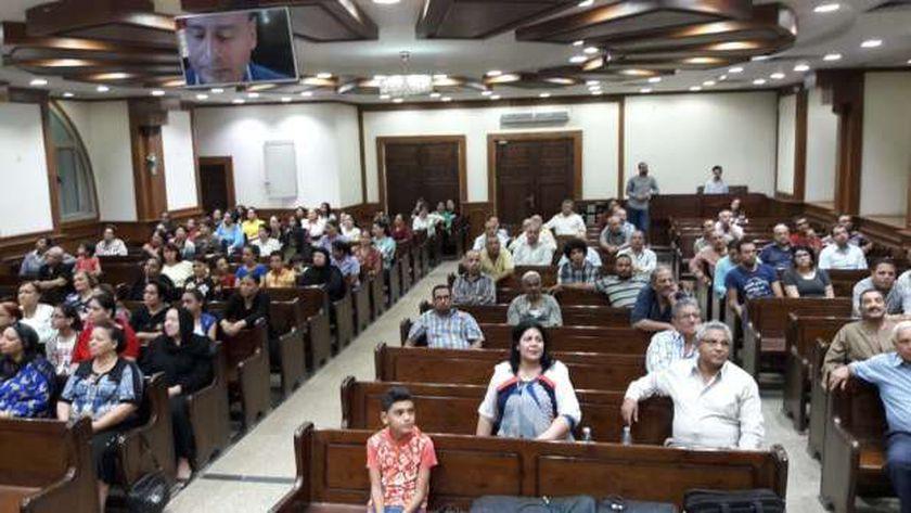 لقاءات داخل الكنائس الإنجيلية للتوعية بخطورة الأدمان في المنيا