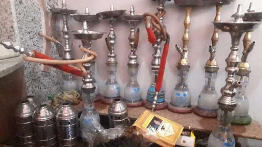 ضبط مقهى مخالف لقرارات الحظر في بني سويف
