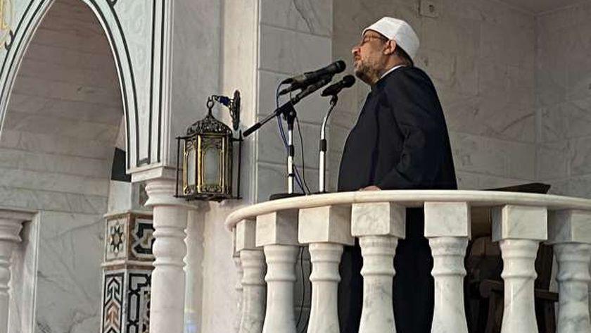 وزير الأوقاف في جامعة الدلتا