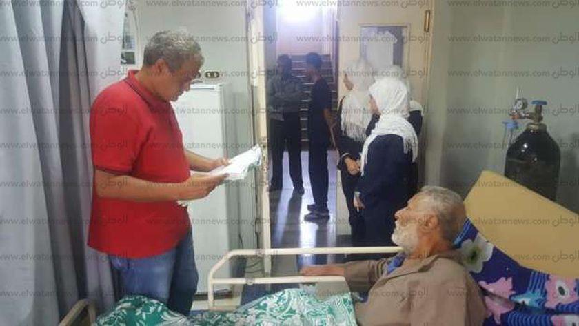 زيارة بمستشفي دهب