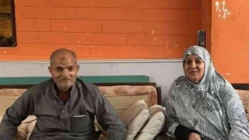 ضحايا حادث القتل في قرية سرابيوم بالإسماعيلية