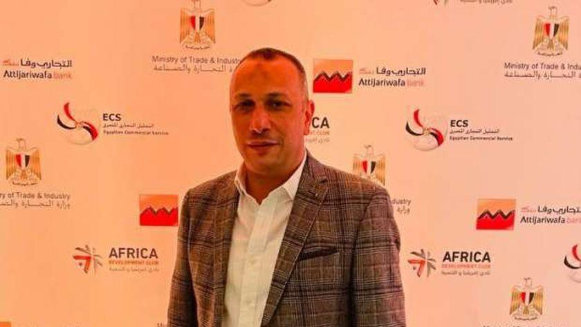 وليد غراب المستشار التجاري لجمهورية جزر القمر وعضو جمعية رجال الأعمال المصريين