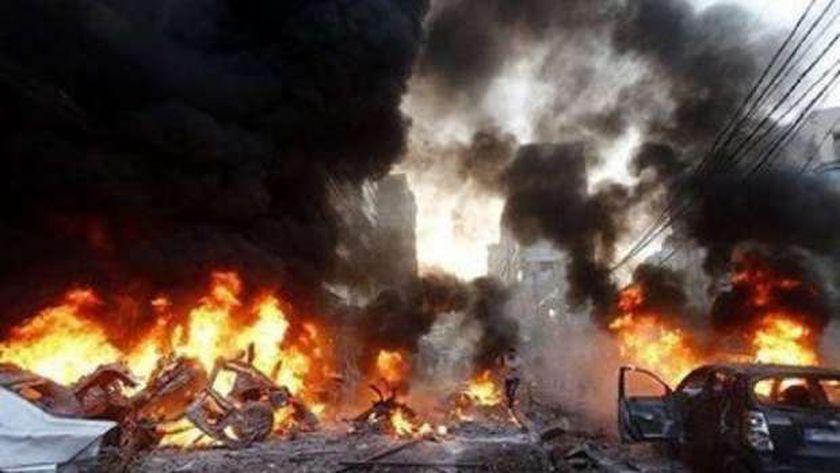 إصابة 6 أتراك و 9 صوماليين في تفجير سيارة مفخخة بالصومال - العرب والعالم -