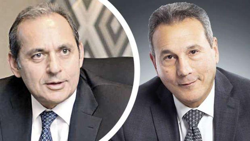 محمد الإتربي وهشام عكاشة