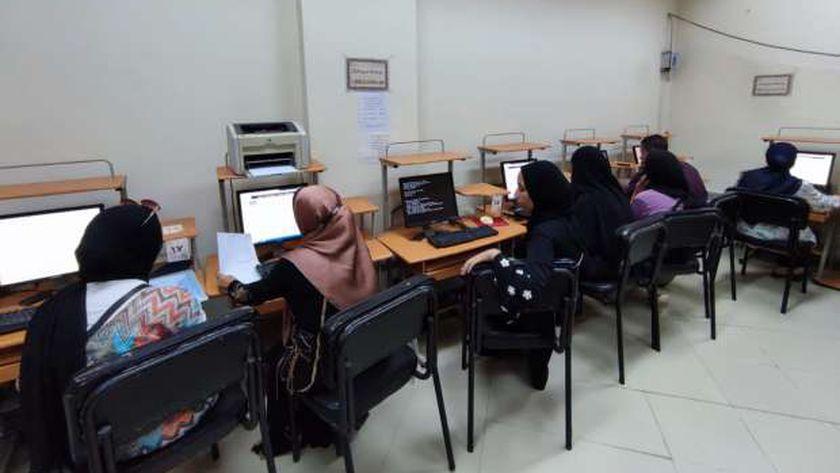 بدء اعمال تنسيق المرحلة الأولى لطلاب الثانوية العامة بجامعة الفيوم