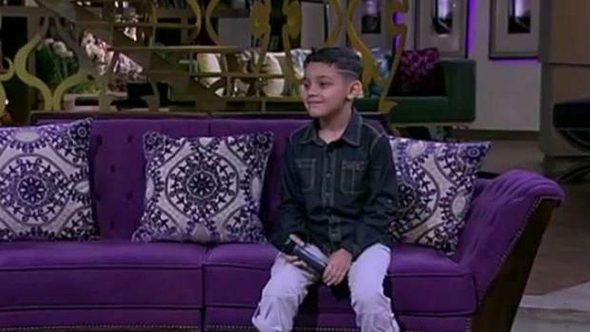 الطفل أحمد السيسى