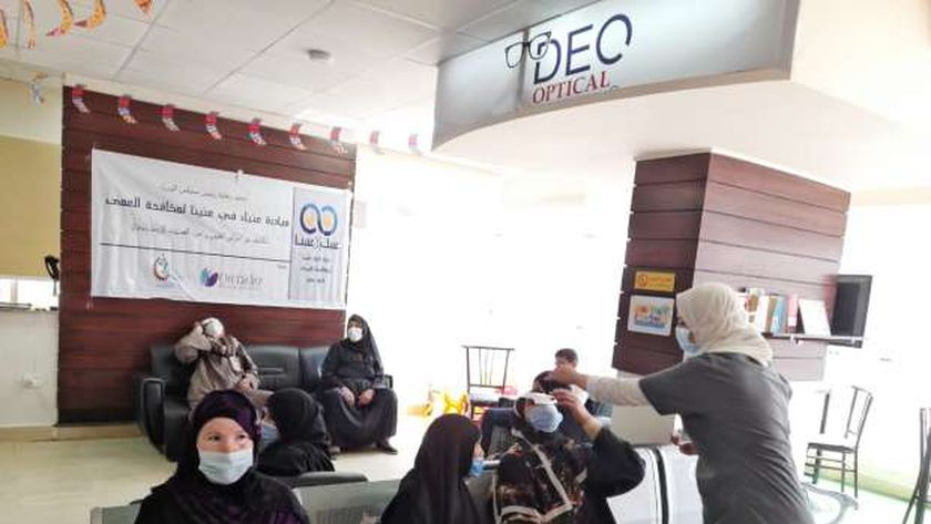 عمليات عيون بالمجان من «صناع الخير واوركيديا» لأهالي باصونة بسوهاج