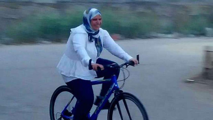 تدريب الدراجات للسيدات