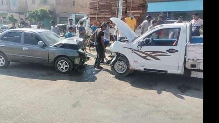 حادث طريق أبوصوير