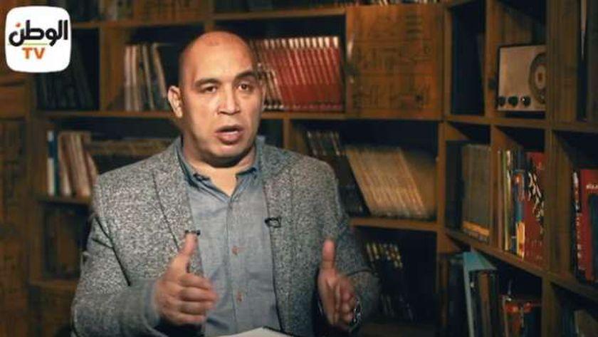 الكاتب الصحفي أحمد الخطيب رئيس التحريري التنفيذي لجريدة «الوطن»
