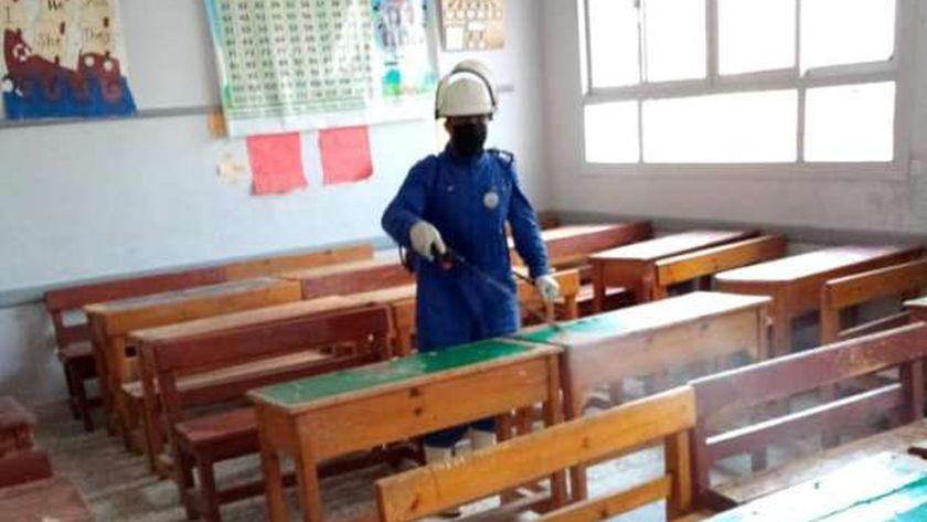 تعقيم مدارس بورسعيد
