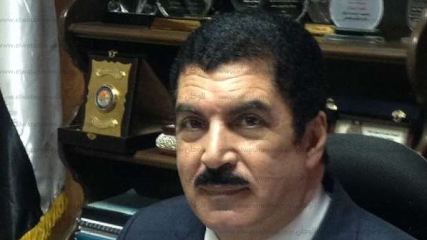 الدكتور علاء عبد الحليم رئيس جامعة بني سويف