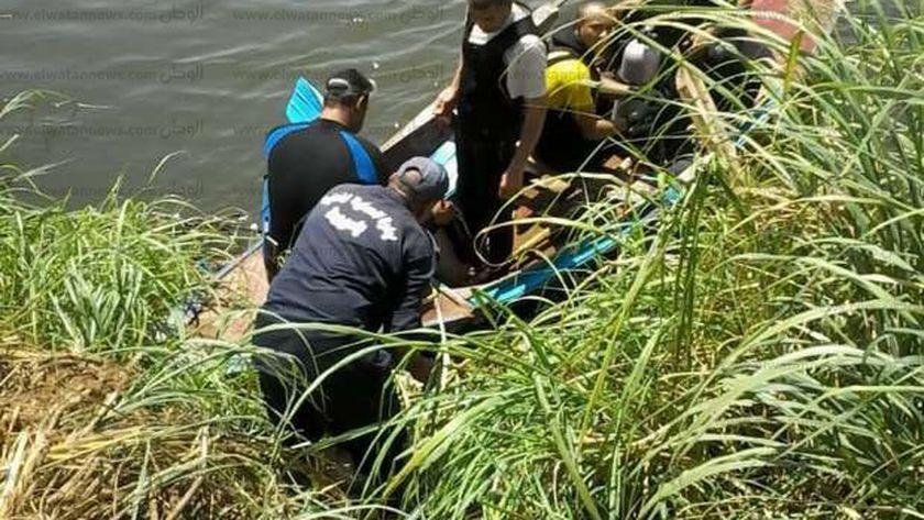 غرق طفل سقط اثناء اللهو في ترعة بسوهاج