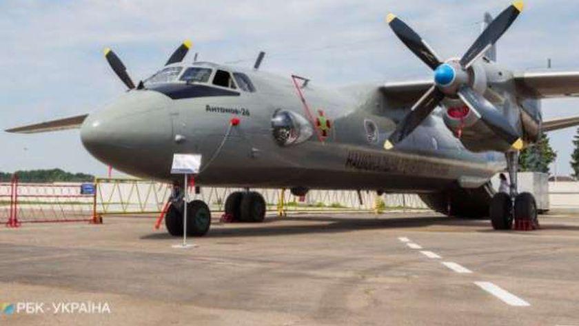طائرة عسكرية أوكرانية
