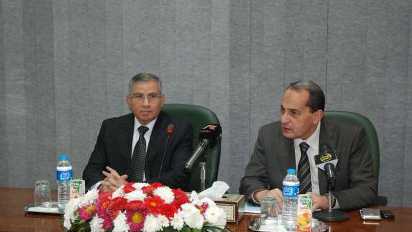 وزير  التموين محمد على مصيلحي