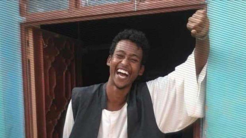الطالب السوداني القتيل عبدالعزيز الصادق محمد