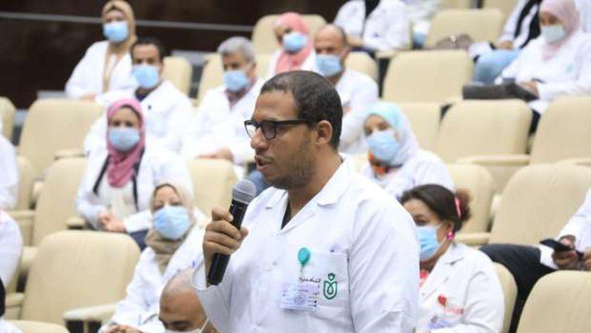 على هامش الجولة التفقدية لرئيس الهيئة العامة للرعاية الصحية لمحافظة الإسماعيلية.