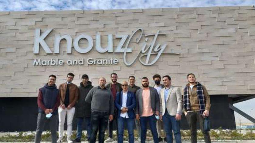 «الهجرة» تقود شباب المصريين في أوكرانيا إلى زيارة «جامعة الجلالة»
