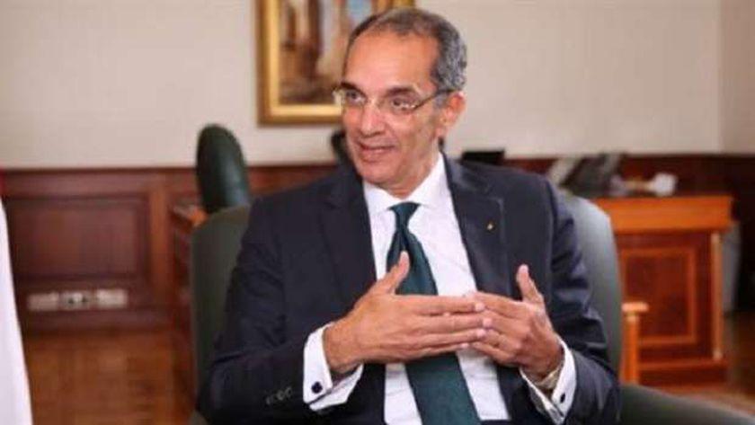 الدكتور عمرو طلعت، وزير الإتصالات وتكنولجيا المعلومات
