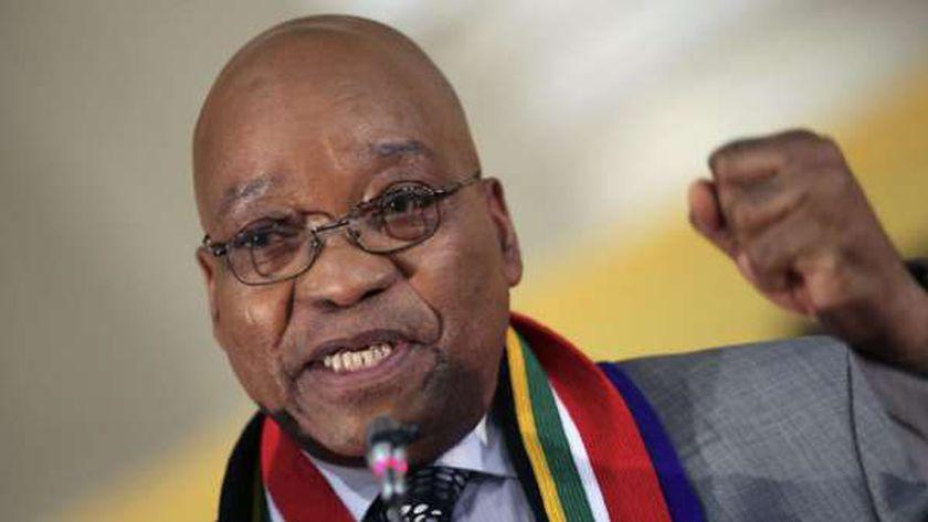 رئيس جنوب إفريقيا - جاكوب زوما