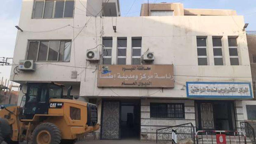 طوارئ بمجالس المدن في آخر أيام التصالح بالفيوم
