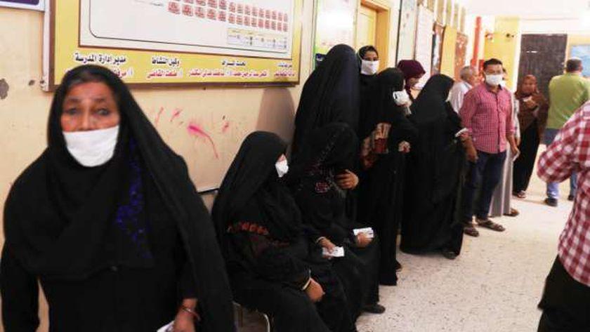 عمليات مستقبل وطن سوهاج: إقبال كثيف من المرأة على التصويت