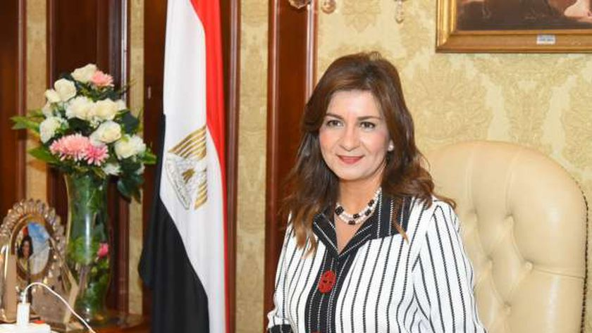 السفيرة نبيلة مكرم وزيرة الهجرة وشؤون المصريين في الخارج
