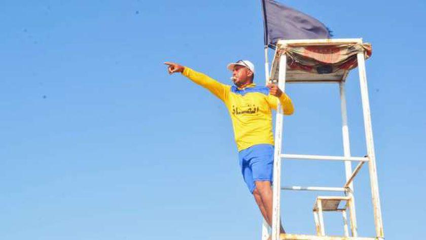 """إنطلاق فعاليات مبادرة """" مصر بلا غرقي"""" من شاطئ دمياط الجديدة"""