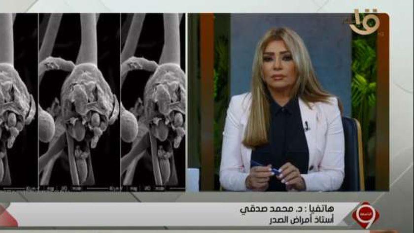 الدكتور محمد صدقي، أستاذ أمراض الصدر،