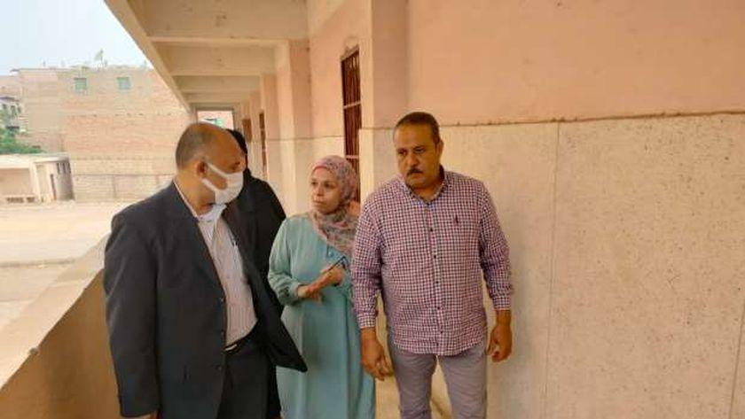 جولة وكيل وزارة التربية والتعليم في بني سويف على المدارس