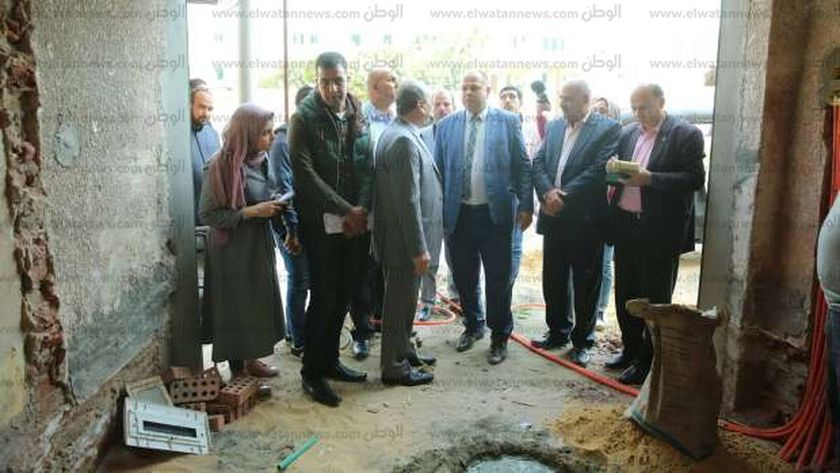 محافظ كفر الشيح يحيل مهندس التنظيم وفنى الإدارة الهندسية للنيابة العامة