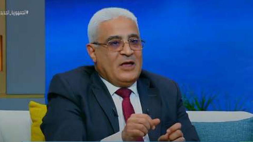 اللواء جمال عوض رئيس هيئة التأمينات الاجتماعية