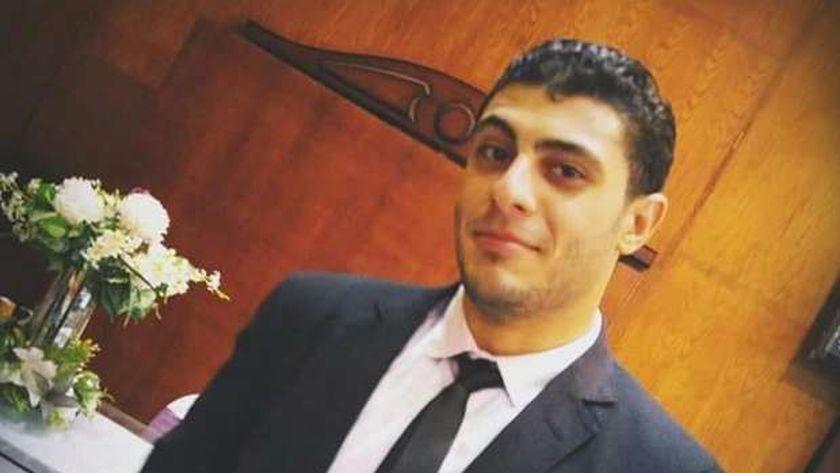 محمد سعد السعيد المجني عليه