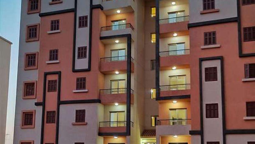 صورة أرشيفية لمجموعة من الوحدات السكنية التابعة للإسكان