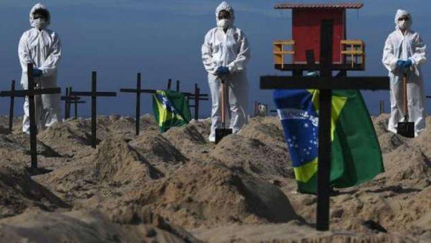 ضحايا كورونا في البرازيل