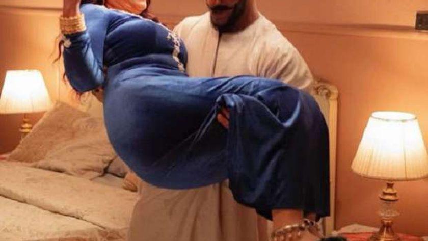 محمد رمضان وسمية الخشاب في مسلسل موسى
