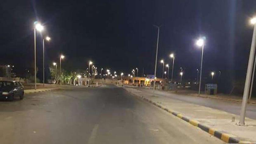 حملات ليلية لتطهير وتعقيم مدينة سفاجا