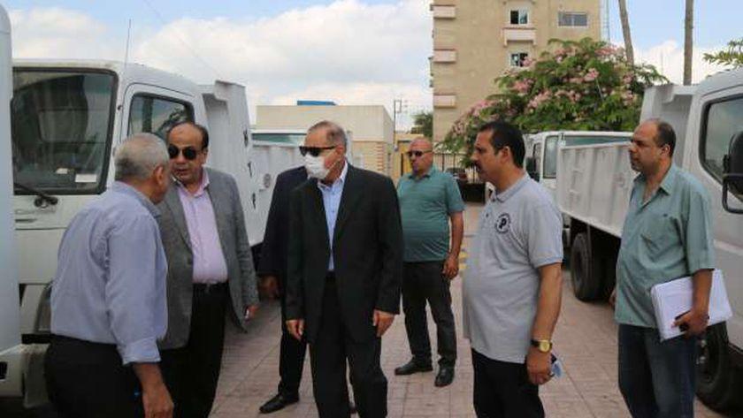 عربات نظافة جديدة بكفر الشيخ