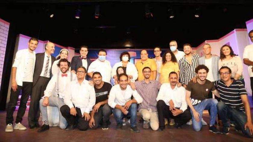 """""""عبدالدايم"""" تشهد عرضين من المبادرة المسرحية """"المؤلف مصري"""" بالإسكندرية"""