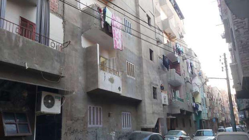 شارع السنباطي بمدينة بني سويف