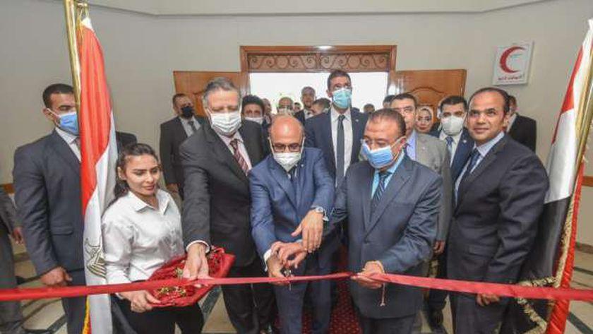 وزير العدل يفتتح متحف ومكتبة سراي الحقانية بمحكمة استئناف الإسكندرية