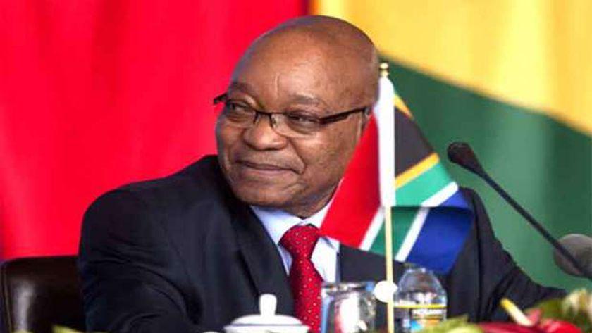 رئيس جنوب إفريقيا-جاكوب زوما-صورة أرشيفية