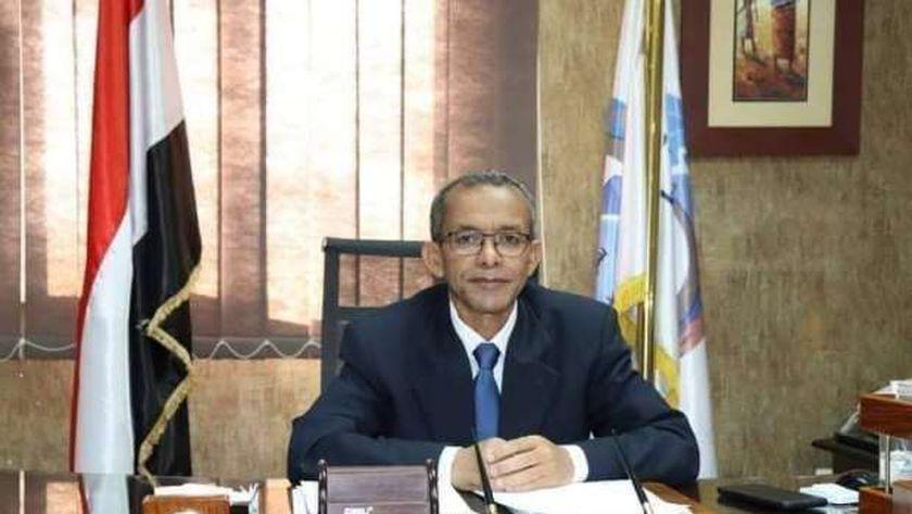 المهندس محمد عيسي رئيس شركة مياه الشرب والصرف الصحي بالبحر الأحمر