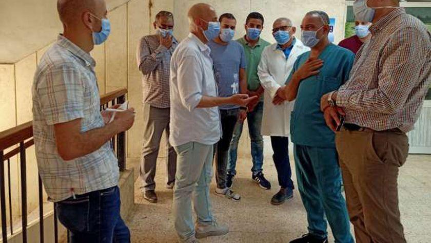 قسم العزل بمستشفى أولاد صقر بالشرقية يسجل صفر إصابات كورونا