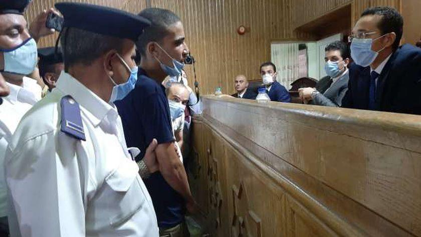 المتهم أمام المحكمة