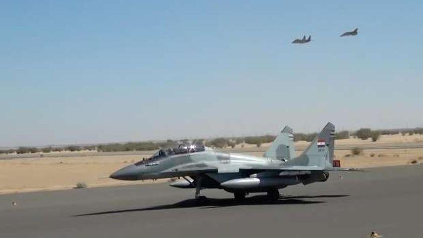 """فعاليات التدريب المشترك بين مصر والصودان """"نسور النيل - 1"""""""